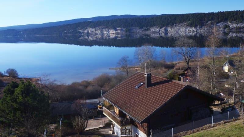 Magnifique chalet avec balcon, vue panoramique