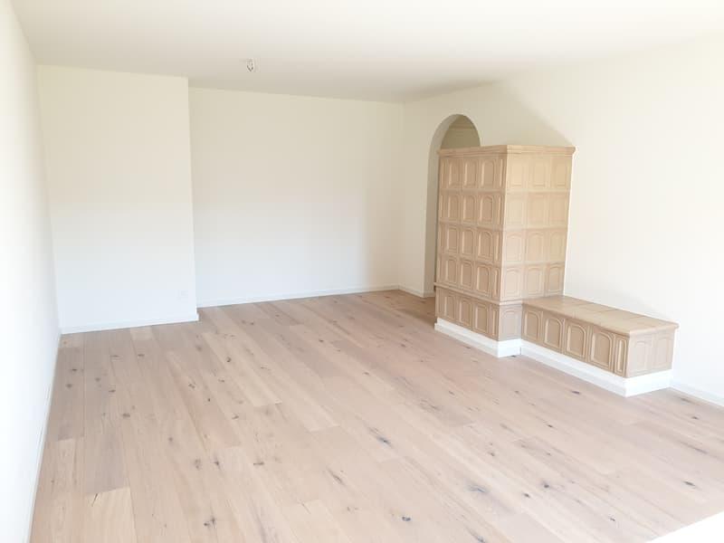 Renovierte Wohnung mit eigenem Waschturm und Kachelofen (1)