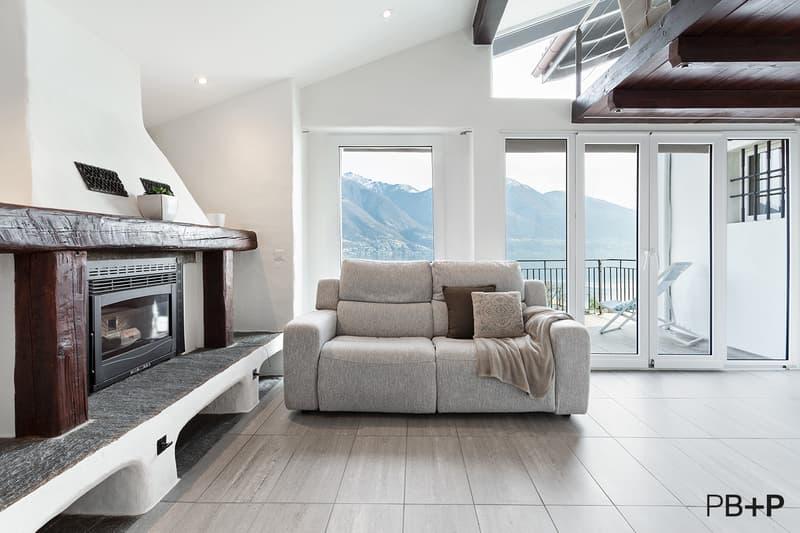 Bellissimo appartamento di vacanza ammobiliato con stupenda vista