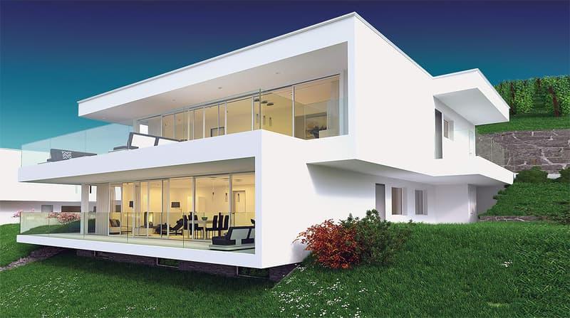 Splendide villa contemporaine, vue panoramique (1)