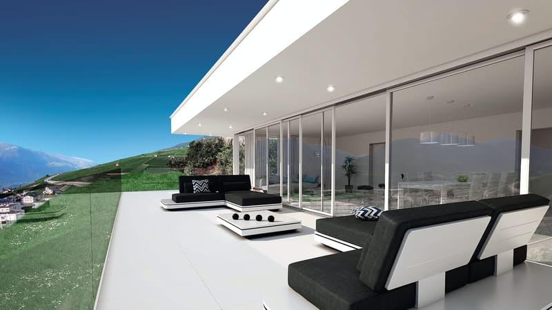 Splendide villa contemporaine, vue panoramique (4)