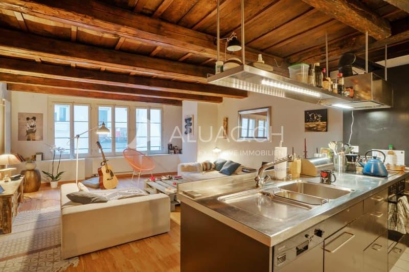 Offene Küche im Wohnbereich