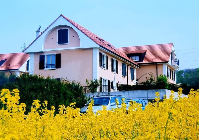 Magnifique villa jumelle 5.5 pièces de 140 m2 habitables