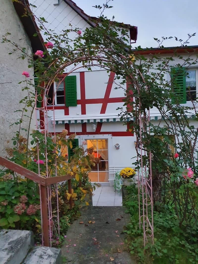 Charaktervolles Bauernhaus mit Stöckli, Liebhaberobjekt (1)