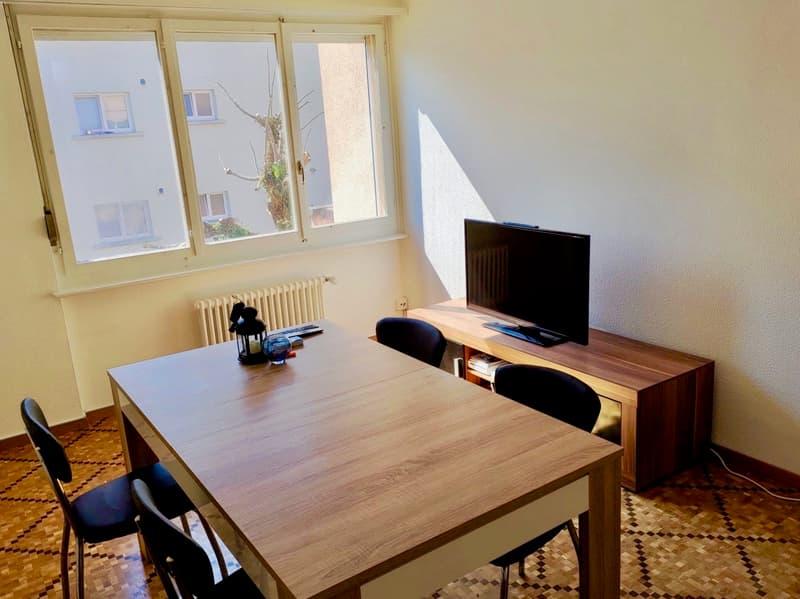 Appartement 2,5 pièces entièrement rénové à proximité du centre ville
