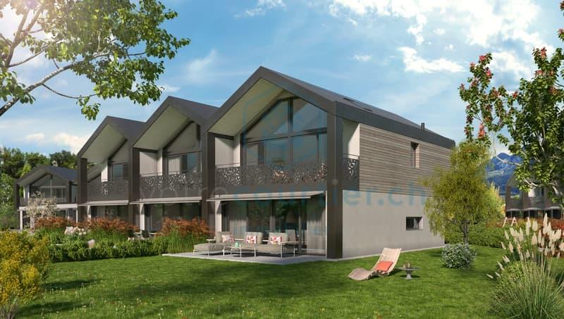 Projet de 15 spacieuses villas de 4.5 pces  + un disponible chauffé (1)