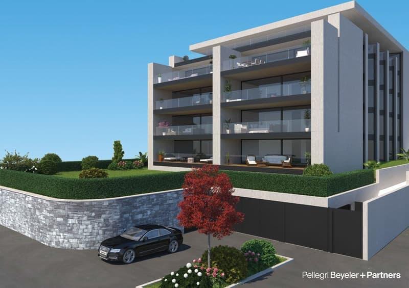 Residenza Rivadellago a Muralto, 4.5 locali al P2/4.5 Zi.-Wohnung im Zweiten Stock