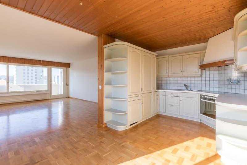 Helle 4.5-Zimmer-Wohnung mit unverbaubarer Weitsicht