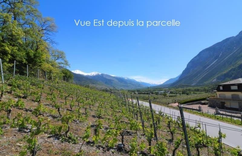 Sierre - belle parcelle à bâtir en zone villa - CHF 390.- / m2 (2)