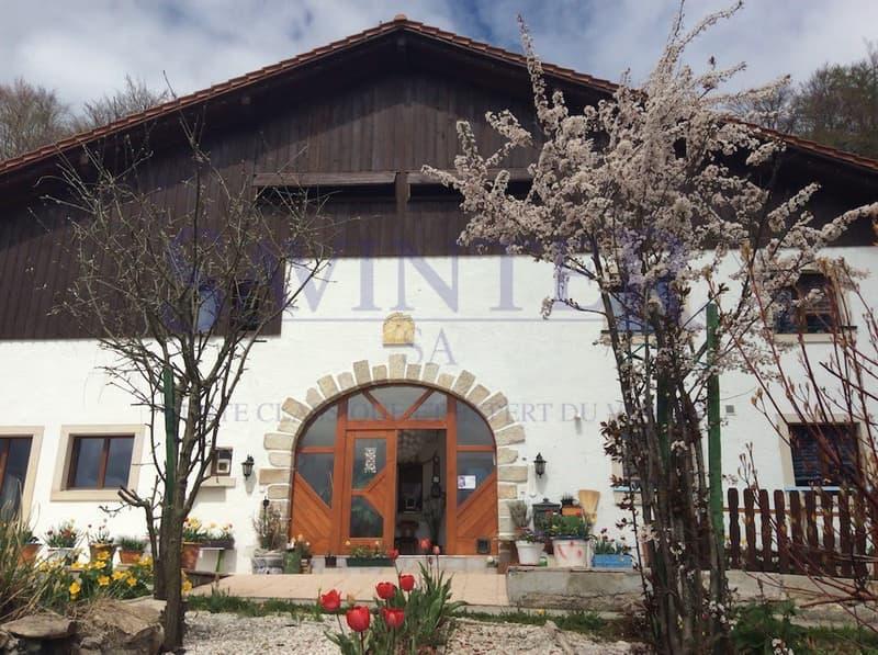 Viager occupé/libre Moutier/Berne Grand potentiel d'une ancienne ferme