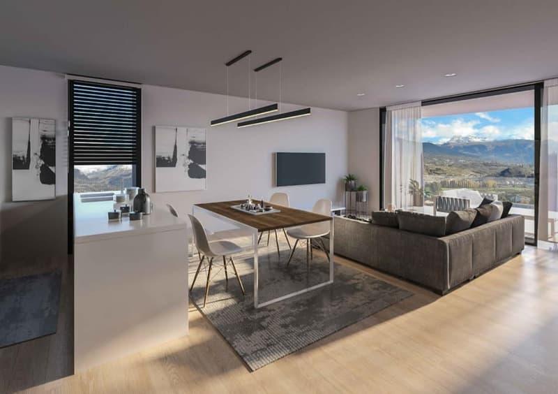 Appartement très bien situé à Bramois