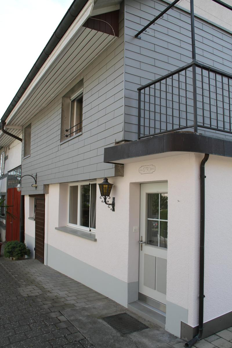 Ostfassade, Eingang zu Hausteil