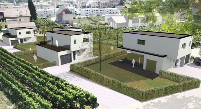A construire  Villa d'architecte