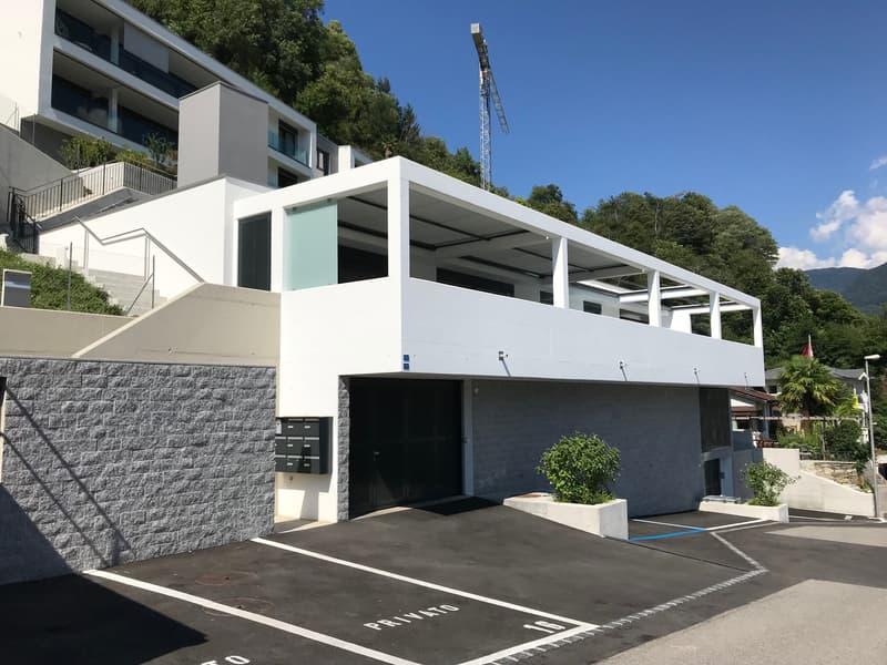 Zu verkaufen wunderschöne Erdgeschoss-Wohnung mit Garten im Tessin