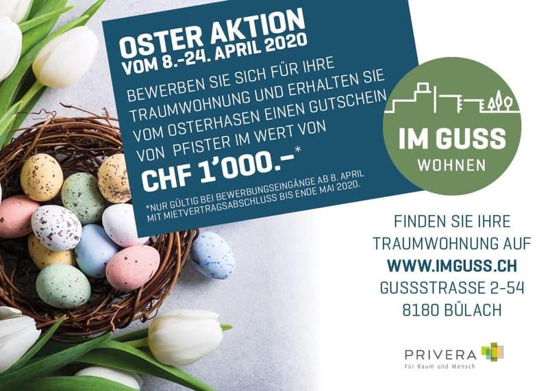 OSTER AKTION - Profitieren Sie jetzt - Erstvermietung IM GUSS in Bülach-Nord (1)