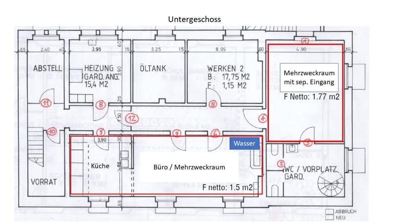 Therapie- oder Büroräumlichkeiten im ehemaligen Schulhaus (3)