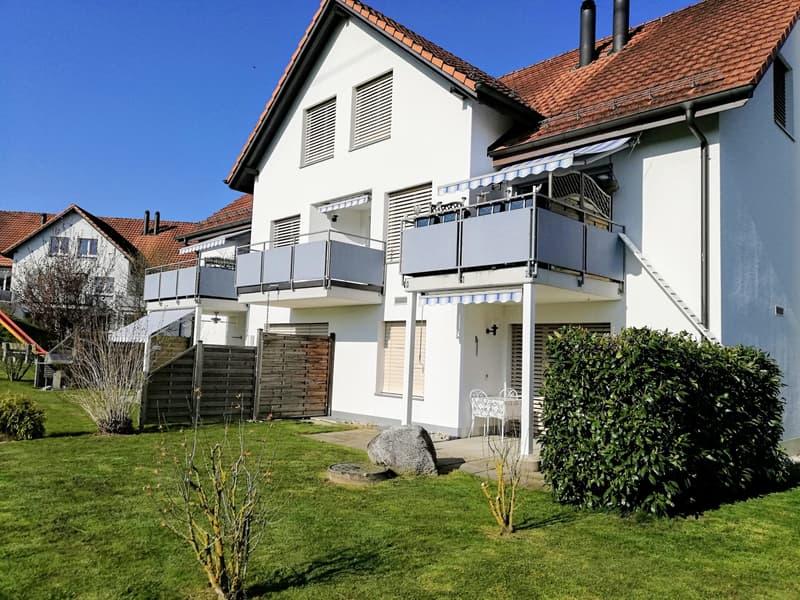 Attraktive 3.5 - Zimmer - Maisonnette - Wohnung mit Cheminee (1)