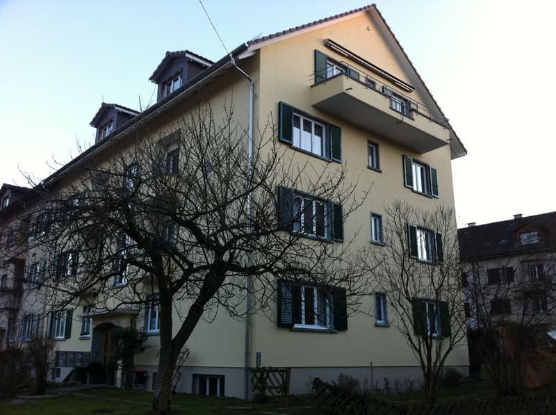 3-Zimmerwohnung, Dachst. re
