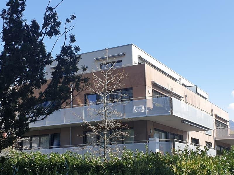Vevey     Quartier résidentiel      Superbe rez de jardin