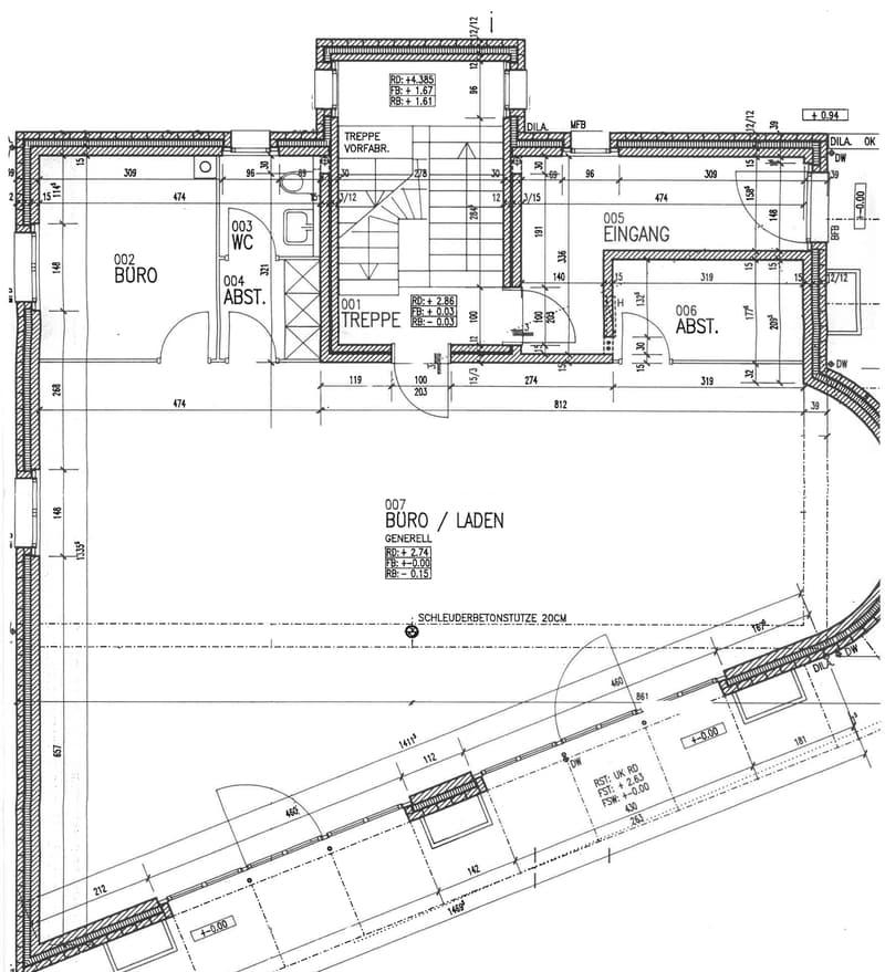Voll vermietet: Anlageobjekt mit Büro, Praxis und Wohnungen (3)