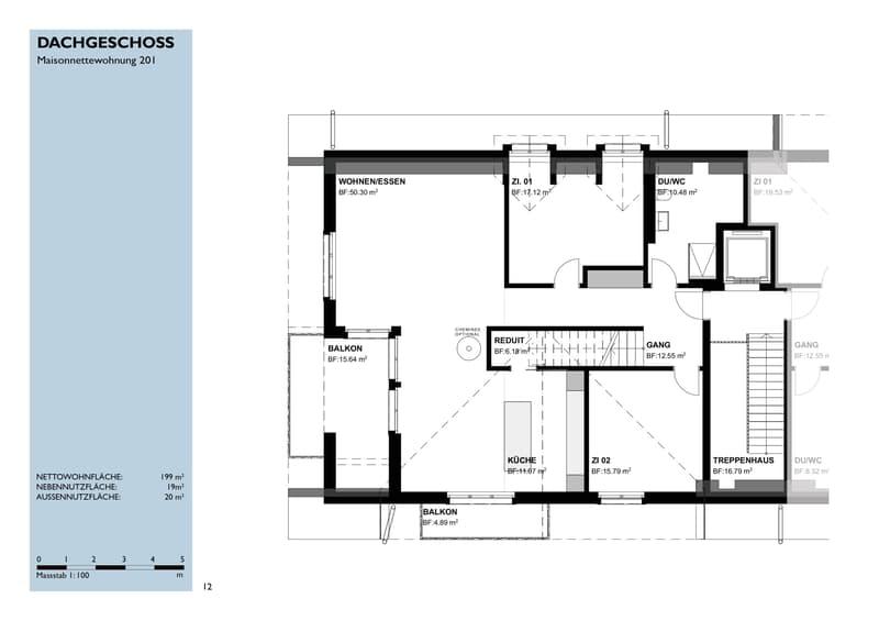5,5 Zimmer Maisonette Dachwohnungen (4)