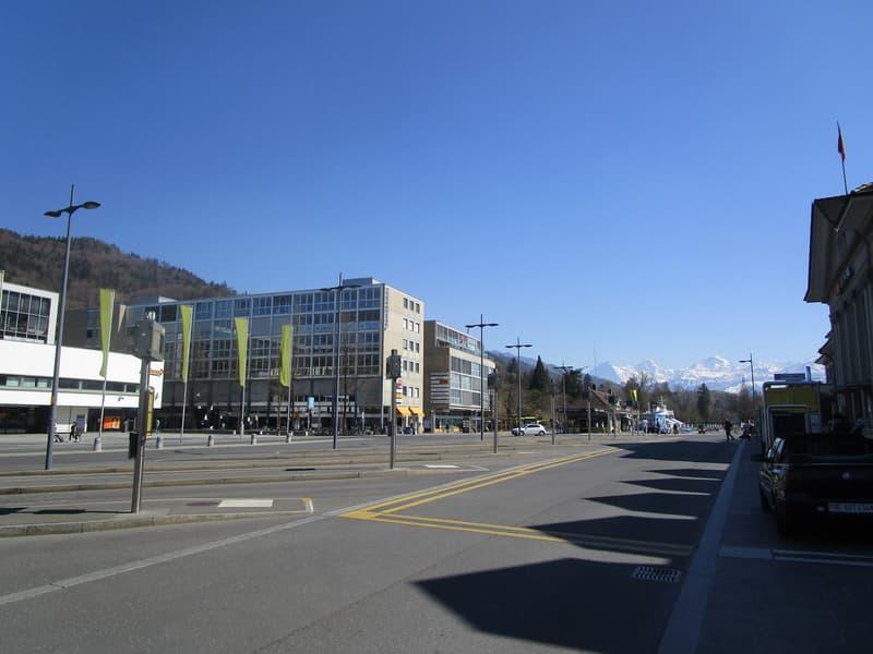 Am Bahnhofplatz - Büroflächen ausbaubar - max. 1000m2