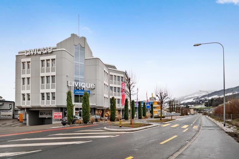 Aussenansicht Büro- und Geschäftsgebäude
