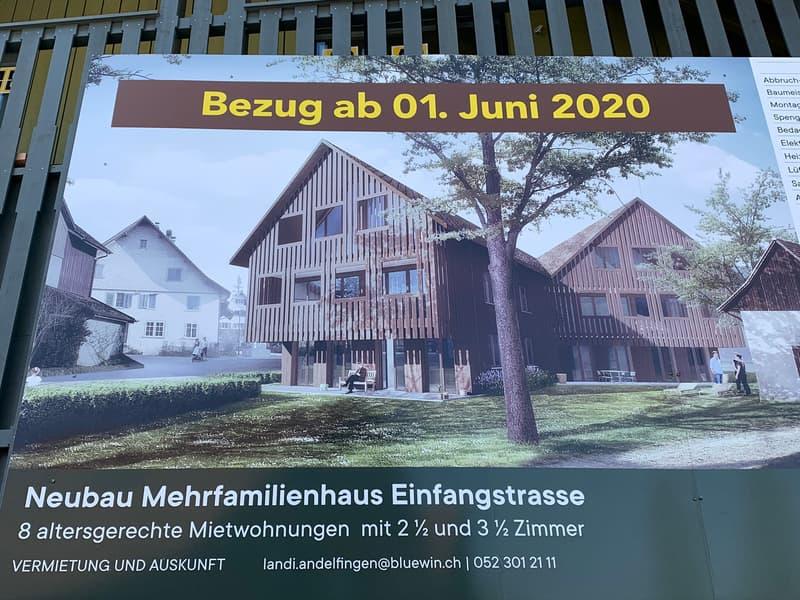 Neue schöne 2.5 Zimmer Wohnung in Kleinandelfingen (1)