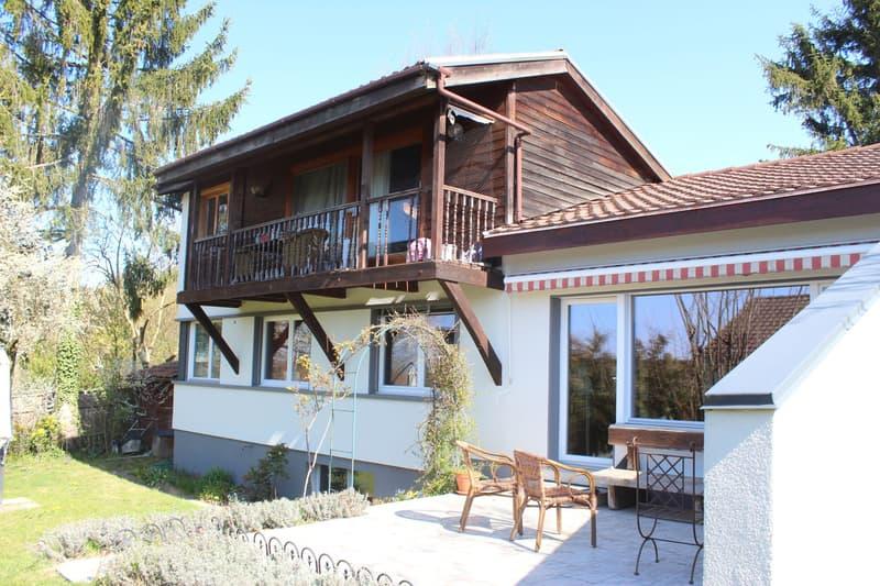 Freistehendes Einfamilienhaus in Bolligen mit sehr viel Umschwung!