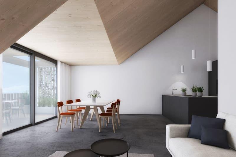 Neubauprojekt «Alte Schreinerei»: Moderne Dachwohnung im Ortskern von Hofstetten