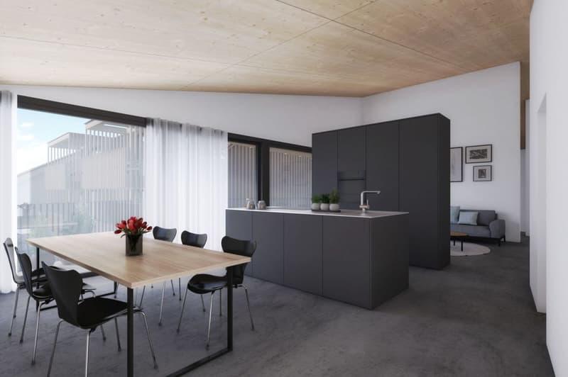 Neubauprojekt «Alte Schreinerei»: Einzigartige Wohnung an sonniger Lage