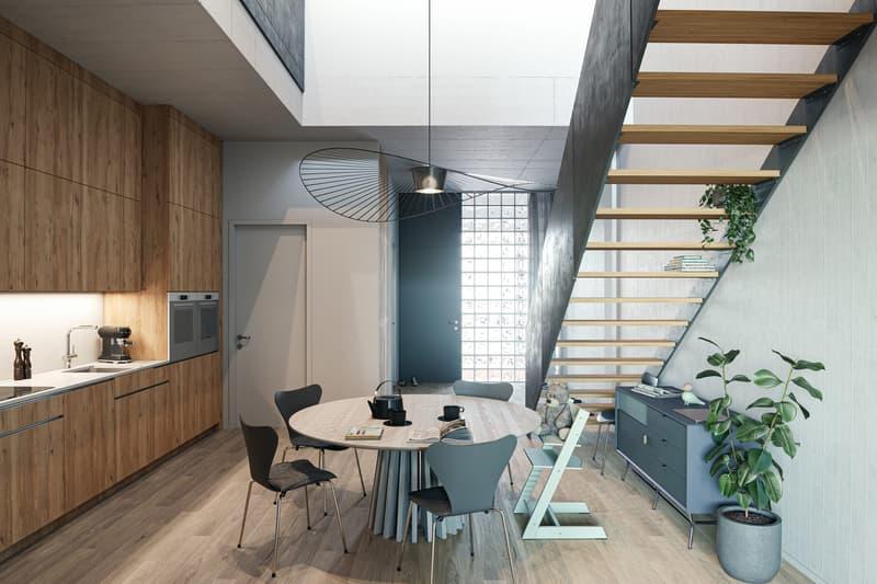 Urbanes Wohnen auf zwei Etagen