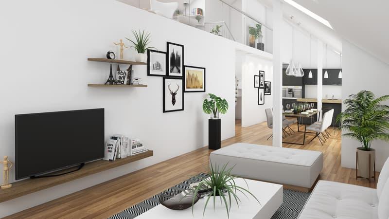 Herrlich luftige Maisonette-Wohnung mit eindrucksvoller Galerie