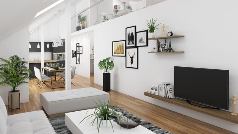 Aussergewöhnliche Maisonette-Wohnung mit grosser Galerie