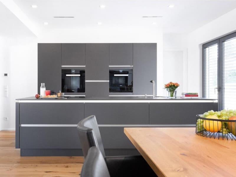 Die vollausgestattete und moderne  Küche