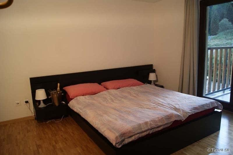 Typical example bedroom