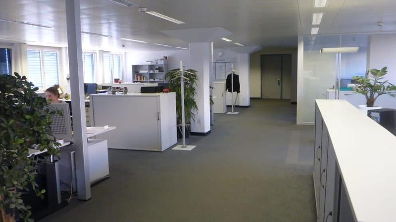 Ausgebaute Büroräume