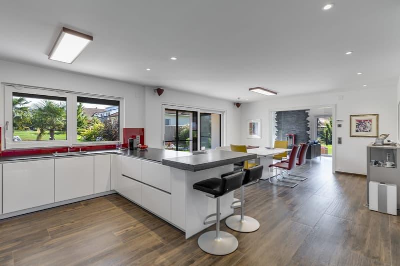 Cuisine ouverte sur le séjour / Küche offen zum Wohnzimmer