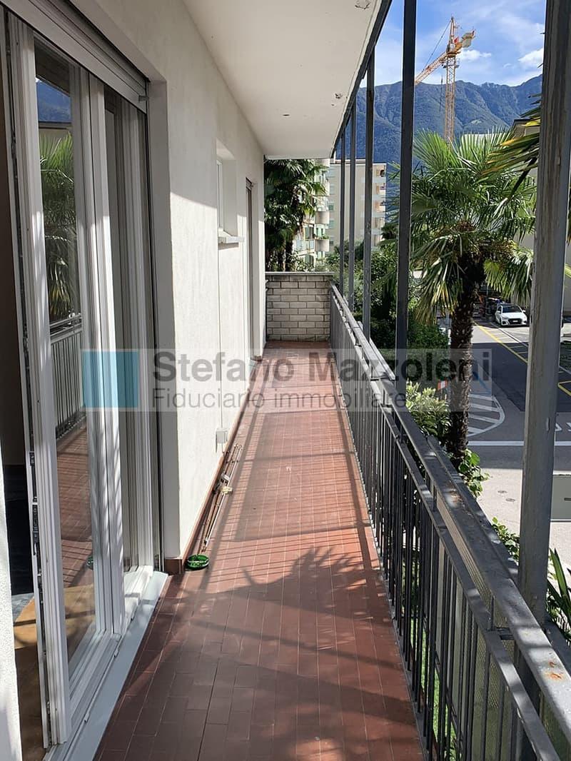 Balcone dal soggiorno