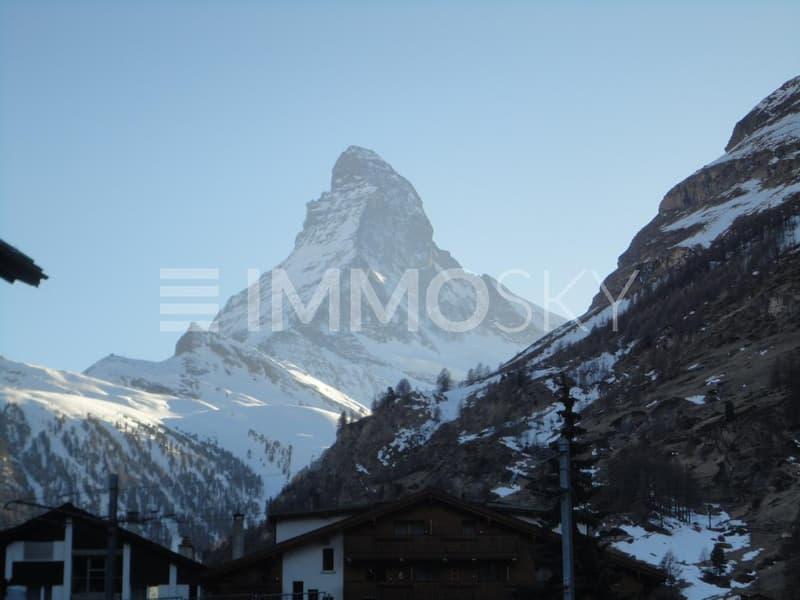 20 Minuten bis zum Matterhorn