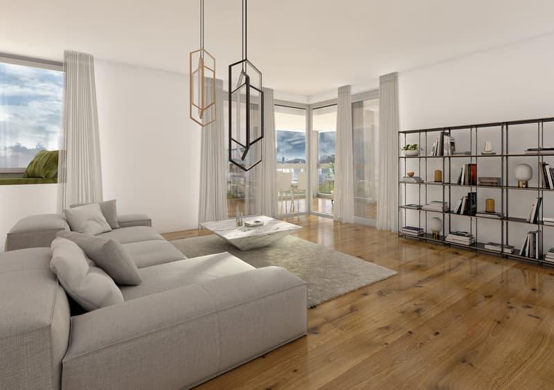 Innenvisualisierung | Wohnen Wohnung 1.1