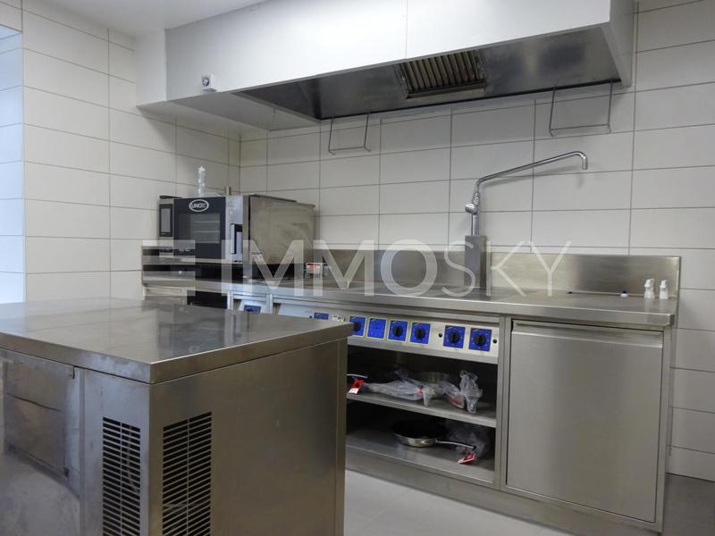 Neue Gastro-Küche