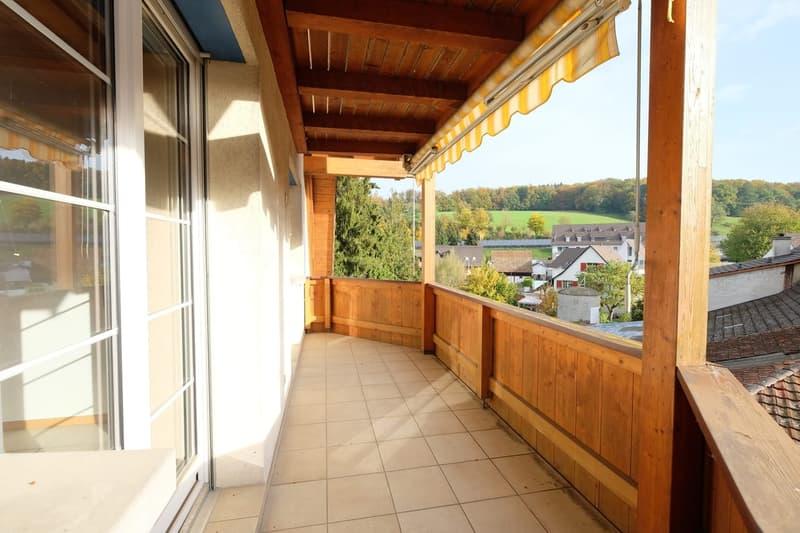 Wohnbereich Balkon