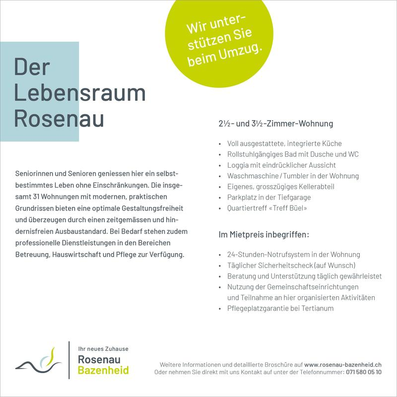 Lebeensraum Rosenau