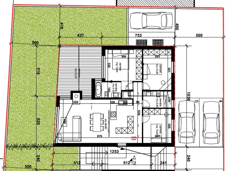 Appartamento B - attico