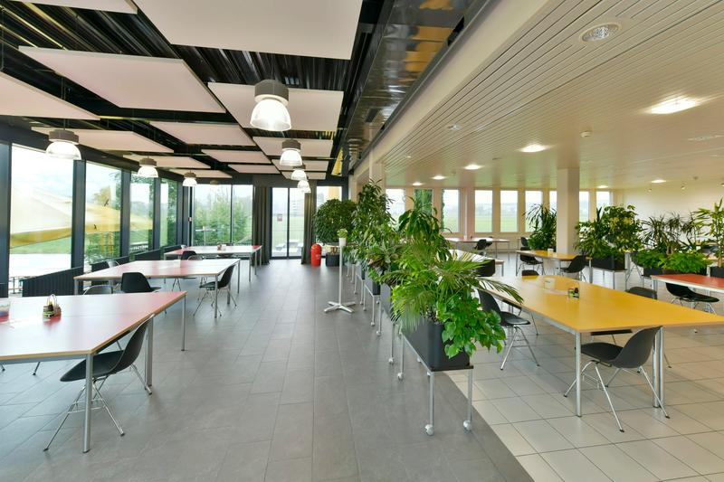 Personalrestaurant mit Anbau Erdgeschoss