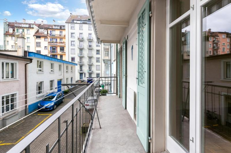 Balkon im Innenhof