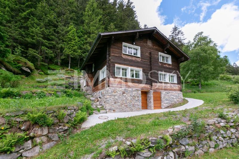 Einzigartiges Berghaus