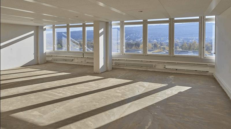 Rohbau Bürofläche