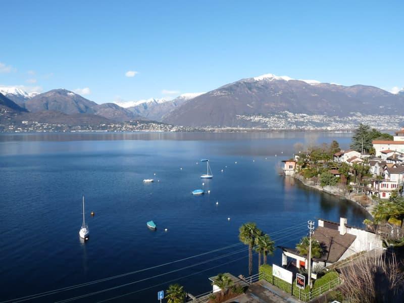 Blick über den Golf von Ascona